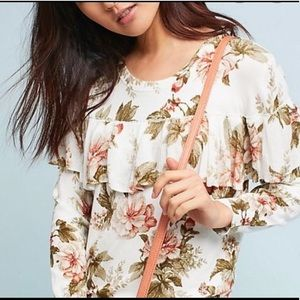 NWT Anthropologie Harlyn Floral Sweater, Small